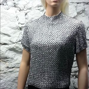 Rare Never Worn Anne Klein Collection Beaded Top